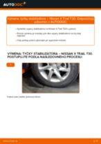 Kedy meniť Vzpera stabilizátora NISSAN X-TRAIL (T30): pdf príručka