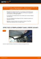 NISSAN X-TRAIL tutoriel de réparation et de maintenance