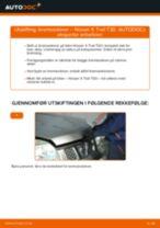 Skifte Bremseskiver NISSAN X-TRAIL: gratis pdf