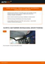 NISSAN huolto - käsikirja pdf