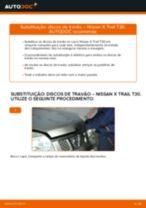 Recomendações do mecânico de automóveis sobre a substituição de NISSAN Nissan X Trail t30 2.2 Di 4x4 Pastilhas De Travão