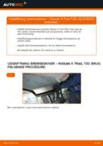 Hvornår skal Bremseskiver skiftes NISSAN X-TRAIL (T30): vejledning pdf