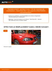 Comment effectuer un remplacement de Pompe à Eau + Kit De Distribution sur 1.9 TDI Seat Ibiza 3