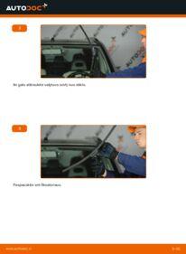 Kaip atlikti keitimą: 2.2 dCi 4x4 Nissan X Trail t30 Valytuvo gumelė