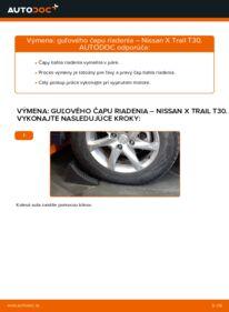 Ako vykonať výmenu: Hlava / čap spojovacej tyče riadenia na 2.2 dCi 4x4 Nissan X Trail t30