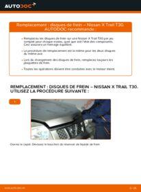 Comment effectuer un remplacement de Disques De Frein sur 2.2 dCi 4x4 Nissan X-Trail T30