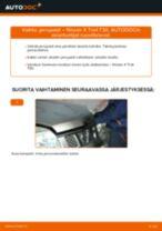 NISSAN käyttöohjekirja verkossa