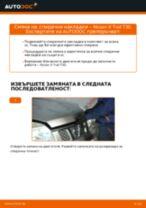 Препоръки от майстори за смяната на NISSAN Nissan X Trail t30 2.2 Di 4x4 Спирачни Накладки