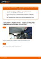 NISSAN KICKS reparatie en onderhoud gedetailleerde instructies