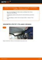 NISSAN X-TRAIL reparations- och underhåll handledning