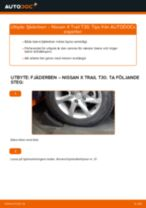 Bilmekanikers rekommendationer om att byta NISSAN Nissan X Trail t30 2.2 Di 4x4 Hjullager