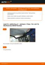 NISSAN X-TRAIL (T30) Polttoainesuodatin asennus - vaihe vaiheelta korjausohjeet