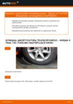 Samodzielna wymiana Amortyzatory tylne i przednie NISSAN - online instrukcje pdf