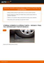 Odporúčania od automechanikov k výmene NISSAN Nissan X Trail t30 2.2 Di 4x4 Hlava / čap spojovacej tyče riadenia