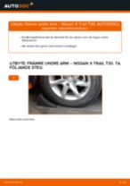 Steg-för-steg Nissan X-Trail T32 reparationsguide