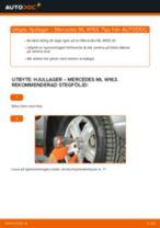 Steg-för-steg-guide i PDF om att byta Hjullager i Toyota Land Cruiser Prado 90