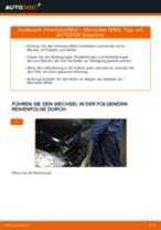 Wie Mercedes W169 Innenraumfilter wechseln - Anleitung