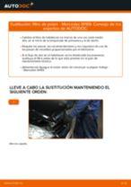 Cómo cambiar: filtro de polen - Mercedes W169 | Guía de sustitución