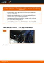 Bilmekanikers rekommendationer om att byta MERCEDES-BENZ Mercedes W168 A 170 CDI 1.7 (168.009, 168.109) Bränslefilter