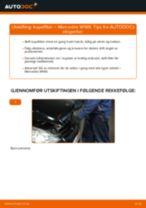 Mekanikerens anbefalinger om bytte av MERCEDES-BENZ Mercedes W168 A 170 CDI 1.7 (168.009, 168.109) Tennplugger