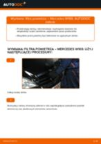 Jak wymienić filtr powietrza w Mercedes W169 - poradnik naprawy