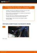 Manual de solução de problemas do MERCEDES-BENZ Classe A