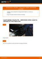 MERCEDES-BENZ A-CLASS Õhufilter vahetamine: juhend online