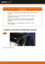 Pollenszűrő-csere Mercedes W169 gépkocsin – Útmutató