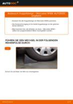 Wie Mercedes W169 Koppelstange vorne wechseln - Schritt für Schritt Anleitung