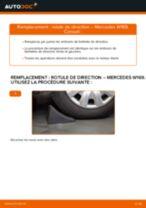 Changement Rotule De Direction MERCEDES-BENZ A-CLASS : manuel d'atelier