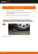 Jak wymienić końcówkę drążka kierowniczego w Mercedes W169 - poradnik naprawy