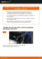 DIY-Leitfaden zum Wechsel von Getriebelagerung beim MERCEDES-BENZ A-CLASS (W169)