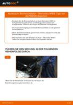 Anleitung zur Fehlerbehebung für MERCEDES-BENZ Bremsscheiben beschichtet