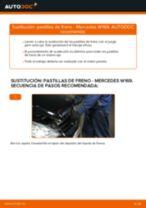 Cómo cambiar: pastillas de freno de la parte trasera - Mercedes W169 | Guía de sustitución