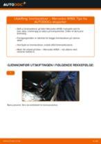 Skifte Fjernlyspære MERCEDES-BENZ A-CLASS: gratis pdf