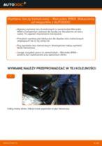 Jak wymienić tarcze hamulcowe tył w Mercedes W169 - poradnik naprawy