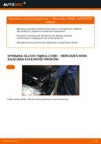 Jak wymienić klocki hamulcowe tył w Mercedes W169 - poradnik naprawy