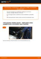 Montage Remblokset MERCEDES-BENZ A-CLASS (W169) - stap-voor-stap handleidingen