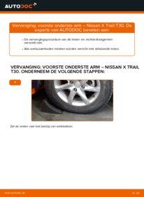 Vervangen: Draagarm 2.2 dCi 4x4 Nissan X Trail t30
