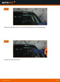 Wie der Wechsel durchführt wird: Scheibenwischer A 180 CDI 2.0 (169.007, 169.307) Mercedes W169 tauschen