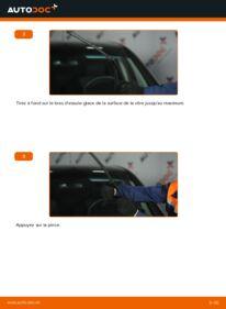 Comment effectuer un remplacement de Essuie-Glaces sur A 180 CDI 2.0 (169.007, 169.307) Mercedes W169