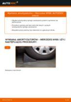 Jak wymienić amortyzator tył w Mercedes W169 - poradnik naprawy