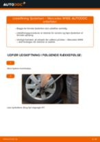 Udskiftning af Bøjle, stabilisatorlejring på VW EOS - tip og tricks