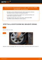 Come cambiare ammortizzatore a molla della parte anteriore su Mercedes W169 - Guida alla sostituzione