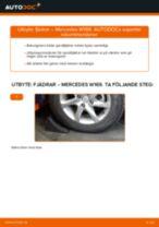 Byta Tändstift MERCEDES-BENZ A-CLASS: gratis pdf