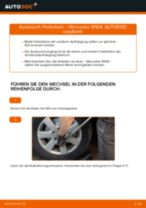 Auswechseln Federbein MERCEDES-BENZ A-CLASS: PDF kostenlos