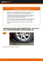 Οι συστάσεις του μηχανικού αυτοκινήτου για την αντικατάσταση MERCEDES-BENZ Mercedes W245 B 200 CDI 2.0 (245.208) Ρουλεμάν τροχών