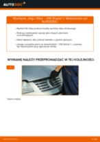 Jak zmienić Filtr oleju silnikowego VW SHARAN: darmowy pdf