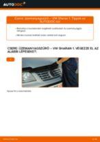 VW SHARAN javítási és kezelési útmutató pdf