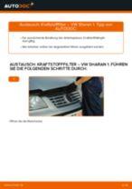 Schritt-für-Schritt-PDF-Tutorial zum Bremsbacken-Austausch beim VW SHARAN (7M8, 7M9, 7M6)